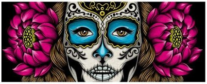 Pale Horse 'La Calavera Catrina' PrintAvailable - PostersandPrints - An Urban Street Art Blog - A Blog About Limited Edition Screen Prints And Urban Art In General