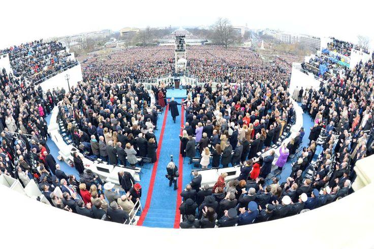 Jan 20, 2017; Washington, DC, USA; President-elect Donald Trump greets daughter Ivanka Trump during ... - Robert Deutsch/USA TODAY