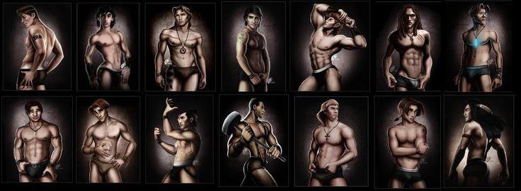 Disney Guys Shirtless