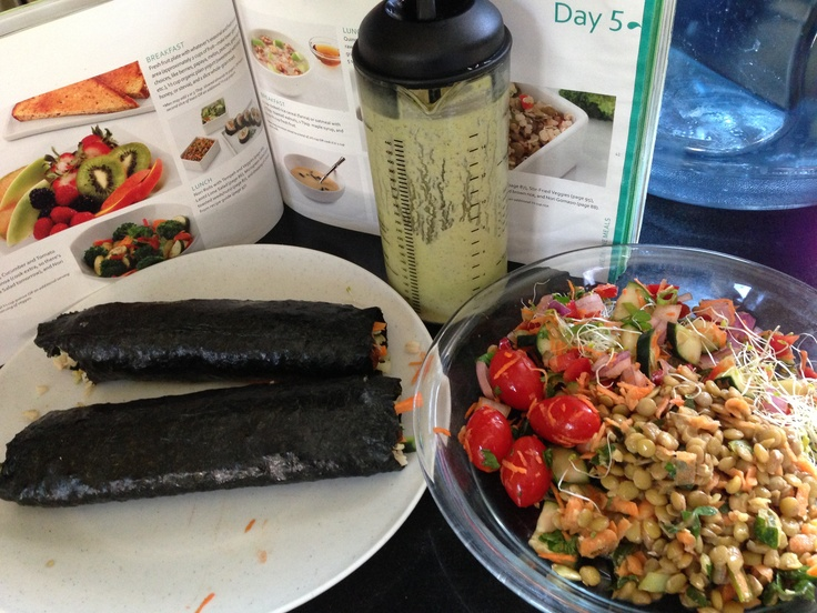 Vegetarian Nori Rolls ½ to 1 tsp. olive oil 1 strip smoky tempeh ...