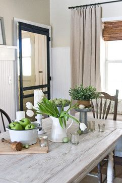 Cottage Style Table Accessories Via The Lettered Traditional Dining RoomsTraditional