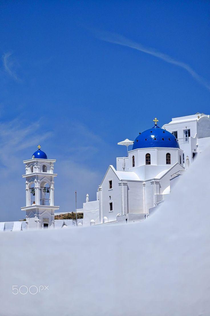 White & blue, Santorini, Greece
