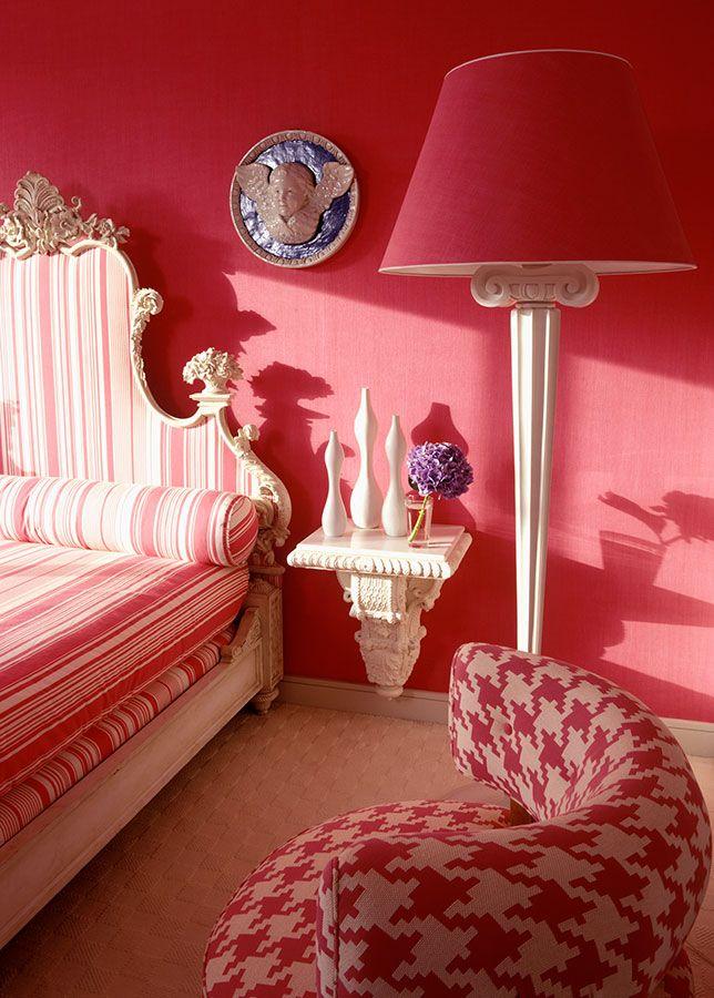 163 best inspiration red images on pinterest figurative for Anthony baratta luna upholstered bed