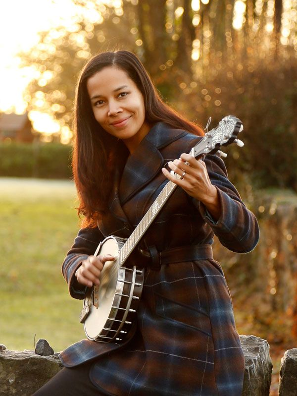 Rhiannon Giddens of the Carolina Chocolate Drops - Claire O'Rorke Photography