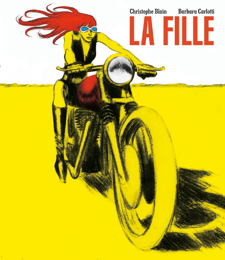 "illustration de Christophe Blain | ""La Fille"" par Christophe Blain et Barbara Carlotti"