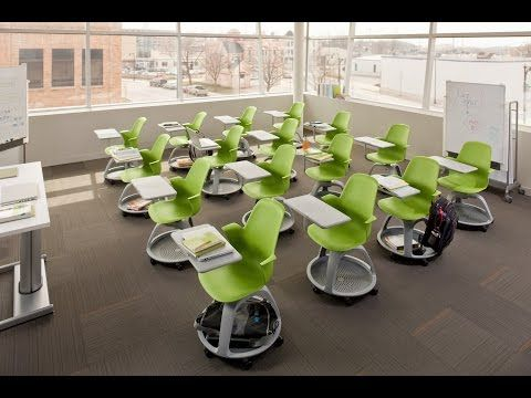 Possible chairs for large meeting space on the sub-ground floornode classroom - animation