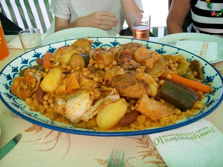 Tunisia, Delicious Couscous