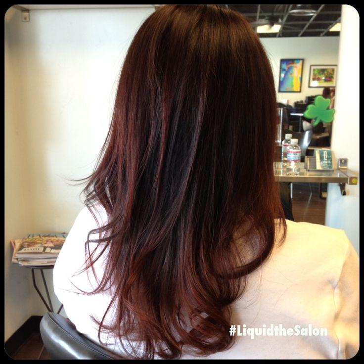 chocolate cherry hair color hair pinterest hair