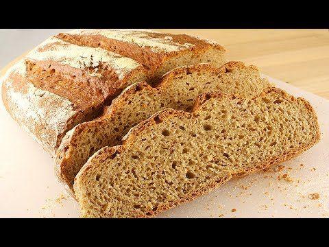 Хлеб из Трех Видов Муки. Очень Вкусный!