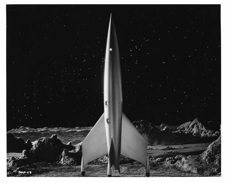Destination Moon (1950) | The classic classic space rocket!!