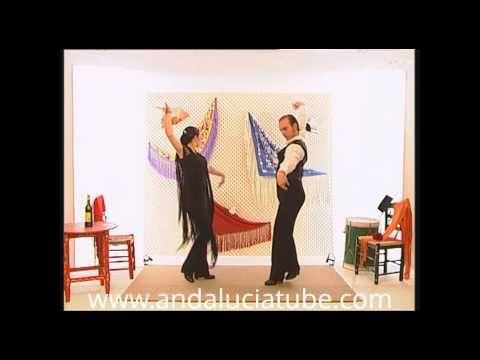 Aprenda a bailar sevillanas. La primera. - YouTube