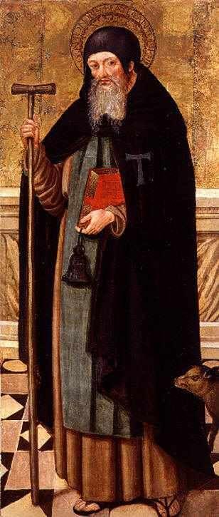 Vicente Macip, san antonio, S. XVI