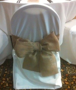 240 Burlap Chair Sash. 240 Burlap Chair Sash on Tradesy Weddings (formerly Recycled Bride), the world's largest wedding marketplace. Price $399.00...Could You Get it For Less? Click Now to Find Out!