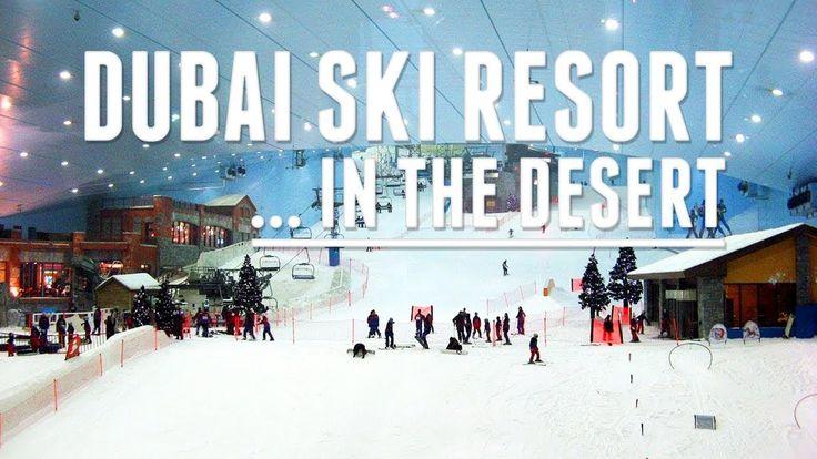 Dubai Ski Resort Winter Sport in the Desert || National Geographic 2015 ...
