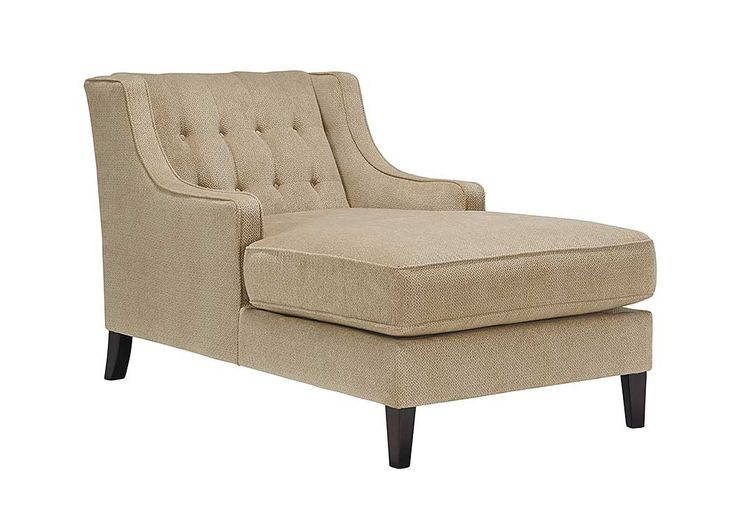 Lochian Chaise In Beige Dining Room Table Sets Bedroom Furniture Curio Cabinets And Solid Wood