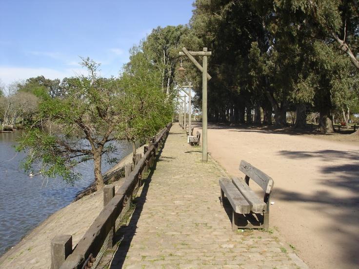 Lago del Parque Unzue(pulmon de la ciudad). Gualeguaychu, Argentina
