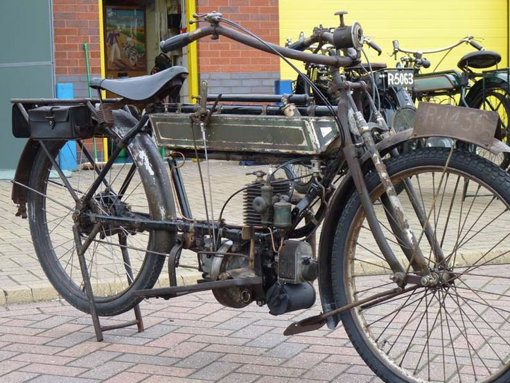 1912 FN single Motorcycle - Drive shaft driven