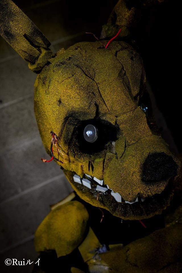 """""""Spring Trap"""" (Five Nights at Freddy's 3) Costume tutorial"""