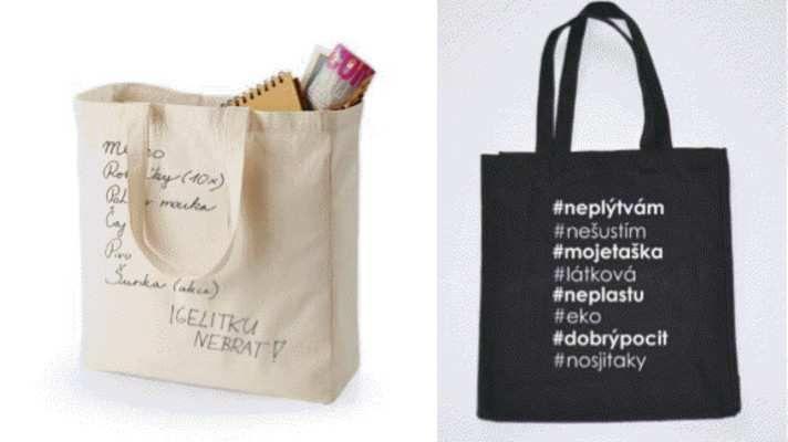 Ministerstvo životního prostředí upozorňuje na blížící se zpoplatnění všech plastových tašek vydávaných u obchodníků #nákupnítašky #igelit
