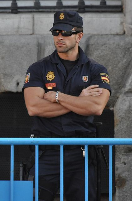Not really a player... But he is a HOT COP keeping the peace at matches... so that has to count for something...