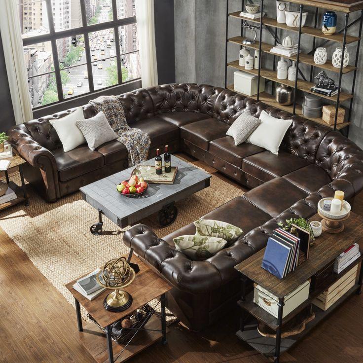 1000 ideas about u shaped sectional on pinterest u for U shaped living room ideas