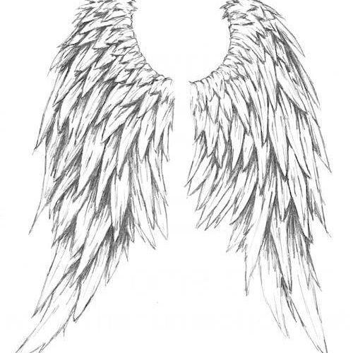casteil angel wings tattoo supernatural pinterest tatueringar och inspiration. Black Bedroom Furniture Sets. Home Design Ideas