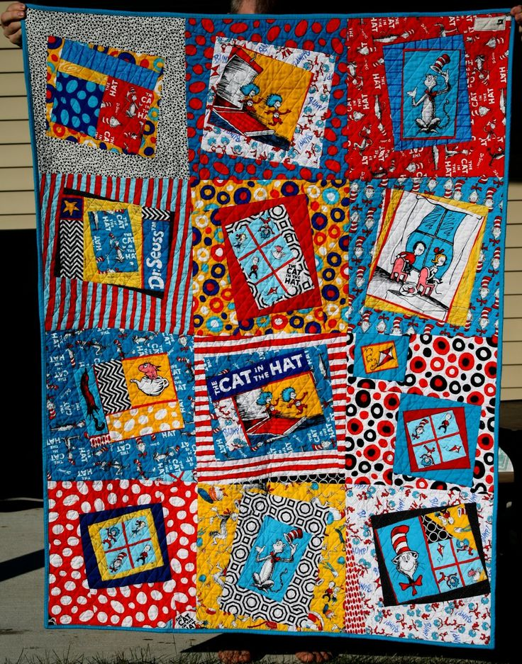 39 best Quilts - Cat in the Hat Quilts images on Pinterest ... : cat in the hat quilt kit - Adamdwight.com