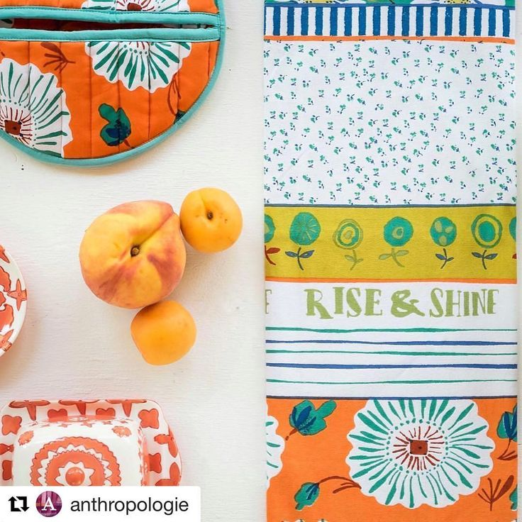 #regram from the ever lovely @anthropologie. We're loving the colours and mix of patterns in this gorgeous image 🍊✨ #Repost @anthropologie with @repostapp ・・・ Rise and shine! ☀️ #regram @anthro_durham (link in profile to shop this shot)