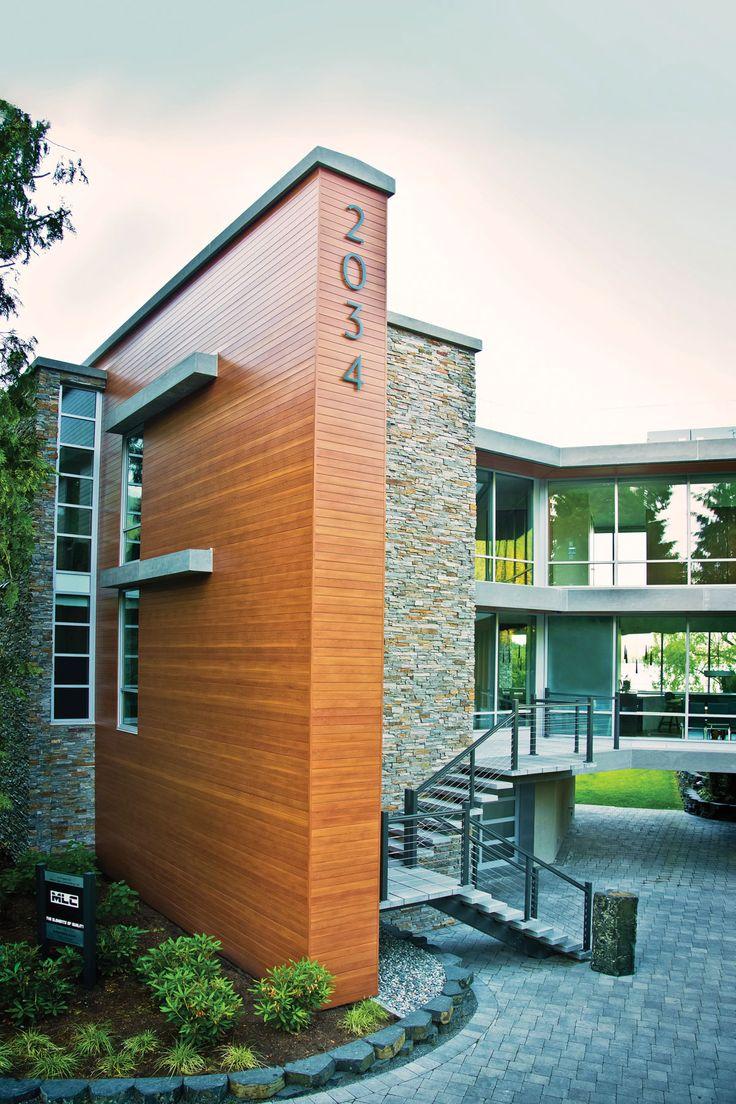 Cultus Lake Beach House Longboard Siding For Building