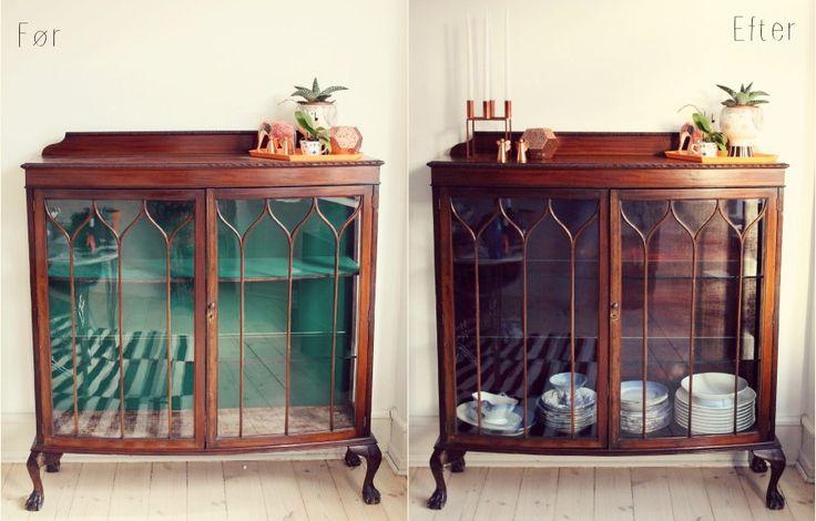 DIY: Mit fine vitrineskab