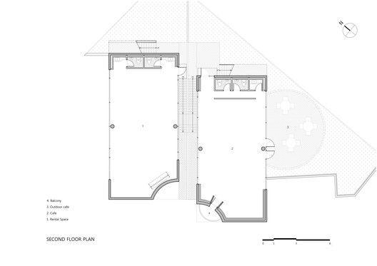Two Moon,Second Floor Plan