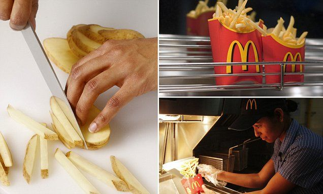 How to make McDonald's-style French Fries at home