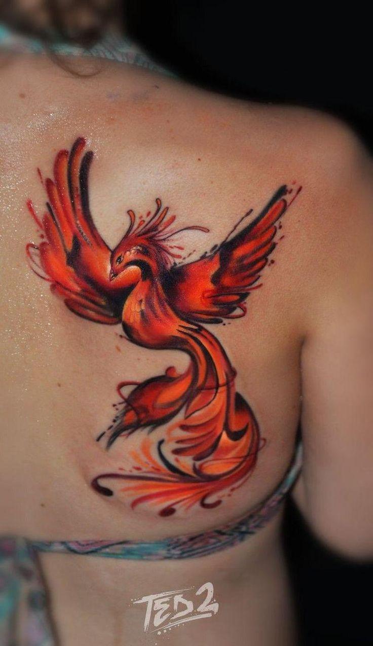 одной версии фото татуировок феникс получить навыки съёмок