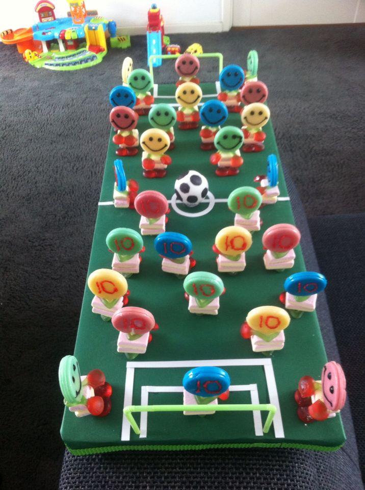 Traktatie voetbal