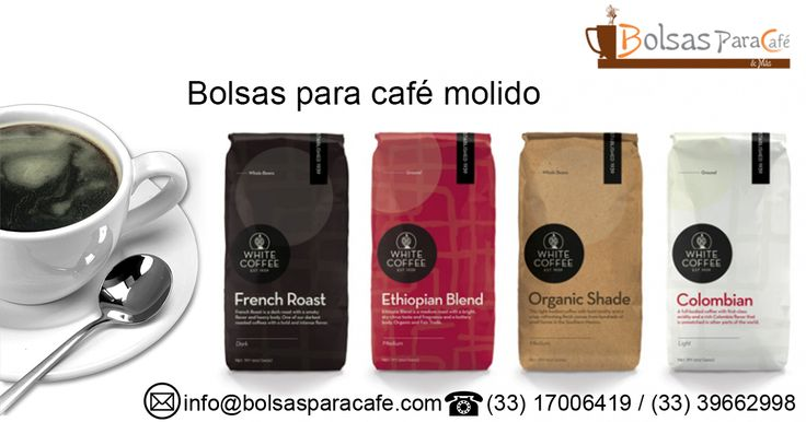 The #GroundCoffee ( #BolsasParaCaféMolido )  should be packed immediately after being ground, in airtight bags that are equipped with degassing valve that will allow the gases emitted by the coffee to be expelled from the #bag which has been packed ground coffee which in turn prevents entry oxygen to the bag for ground coffee. http://www.bolsasparacafe.com/bolsas-para-cafe-molido/
