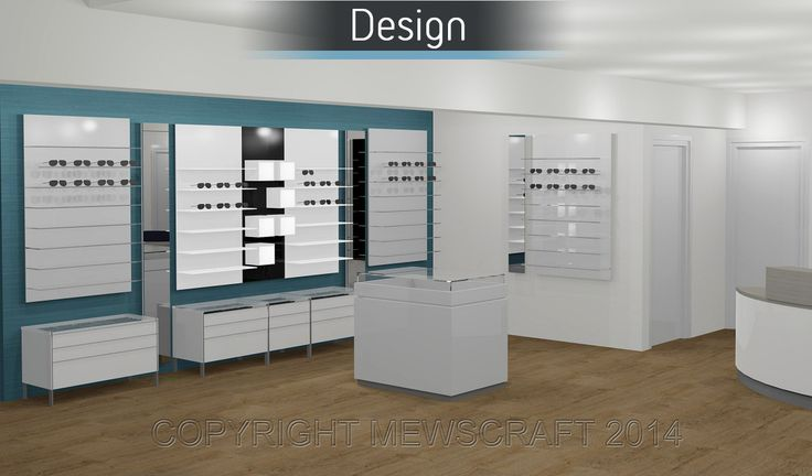 Norma Davies Opticians - Mewscraft #interiordesign #design #commercialdesign #retaildesign #shopfitting #refitting #officedesign #office #interiors #digital #renders #digitaldesign #flooring #seating #aspirational