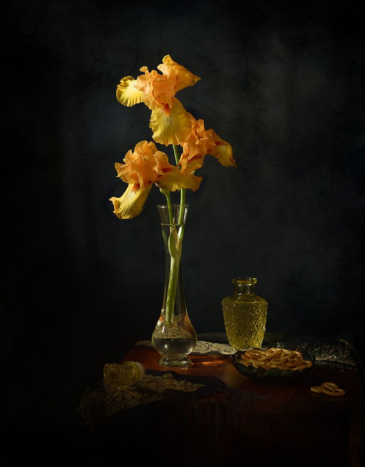 Lyalya Ryumina Оранжевый ирис