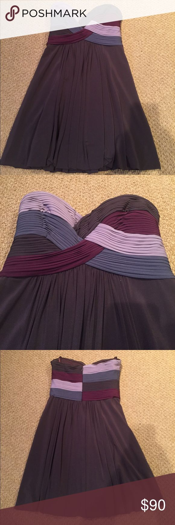 💜BCBGMaxazria Dress💜 Excellent Condition! Gorgeous And Very Flattering! BCBGMaxAzria Dresses Strapless
