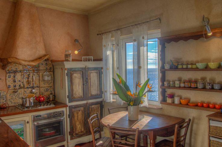 Gorgeous Mediterranean style dining room in a villa inspired interior design. By Emilio Rescigno - Fotografia Immobiliare
