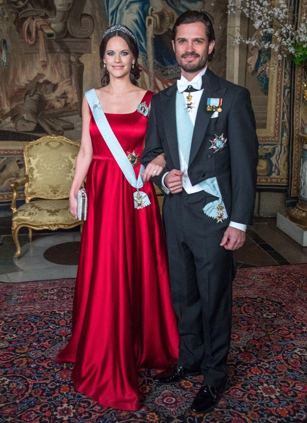 príncipes Carlos Felipe y Sofia