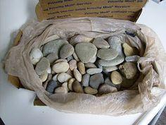 Como pintar pedras com sucesso