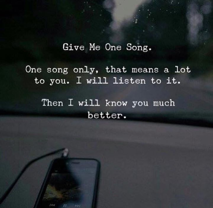 Give me one song. One song only. via (http://ift.tt/2oz1Lq7)