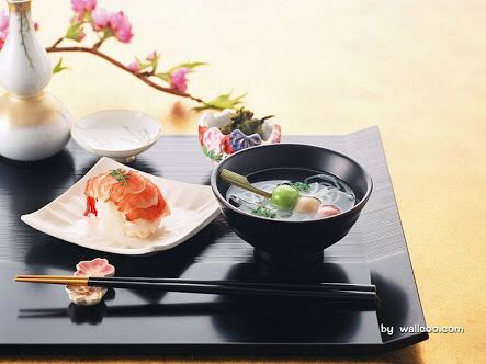 Sushi and Soup Japanese Food u0026 Elegant Tabble Setting & 70 best Traditional Japanese Table Setup and Dining Etiquettes ...