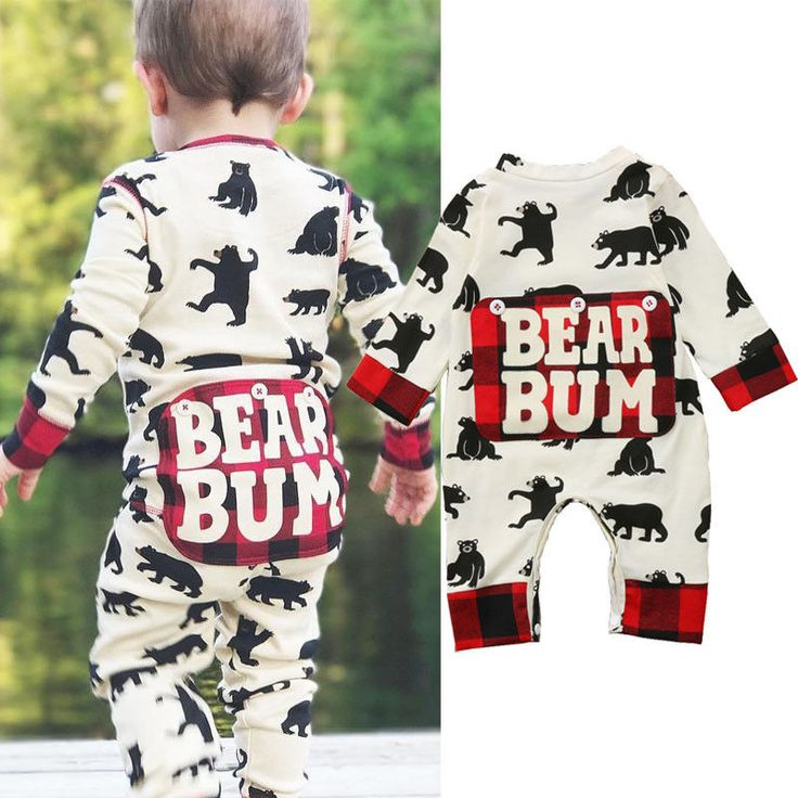 Newborn Kid Baby Boy Girl Bear Clothes Jumpsuit Romper Bodysuit Playsuit Outfits | Clothing, Shoes & Accessories, Baby & Toddler Clothing, Boys' Clothing (Newborn-5T) | eBay!