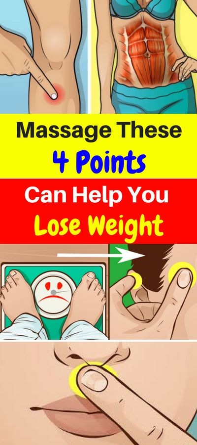 Massage These 4 Points Can Help You Lose Weight – Healthy National