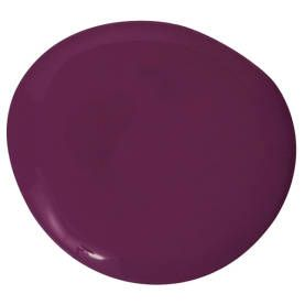 "Benjamin Moore Regal Select Grape Juice 2074-10 - ""The color of a foyer should be deep, like this red-purple that reminds me of the center of a peony. Then the rooms radiating off from it should be lighter in color, as if the apartment is opening up. But first you have this moment of darkness and mystery, where you can organize yourself before you walk into the spotlight."" —Ann Pyne"