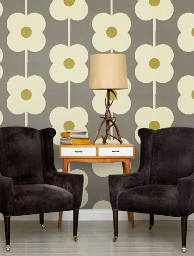 Wallpaper Wednesday: Orla Kiely New Collection