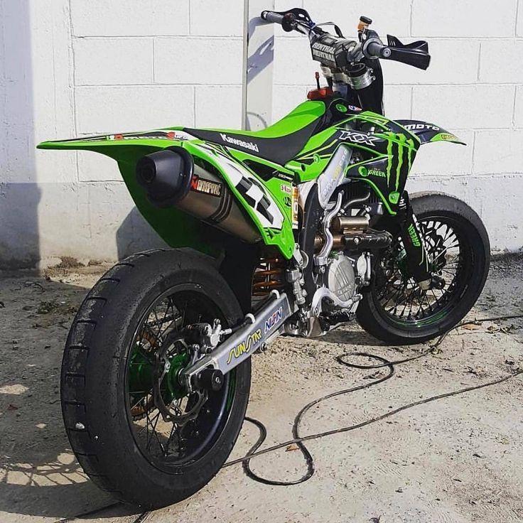 Kawasaki Kx450f Supermoto Motorcycle Bikelife Motorbike Moto