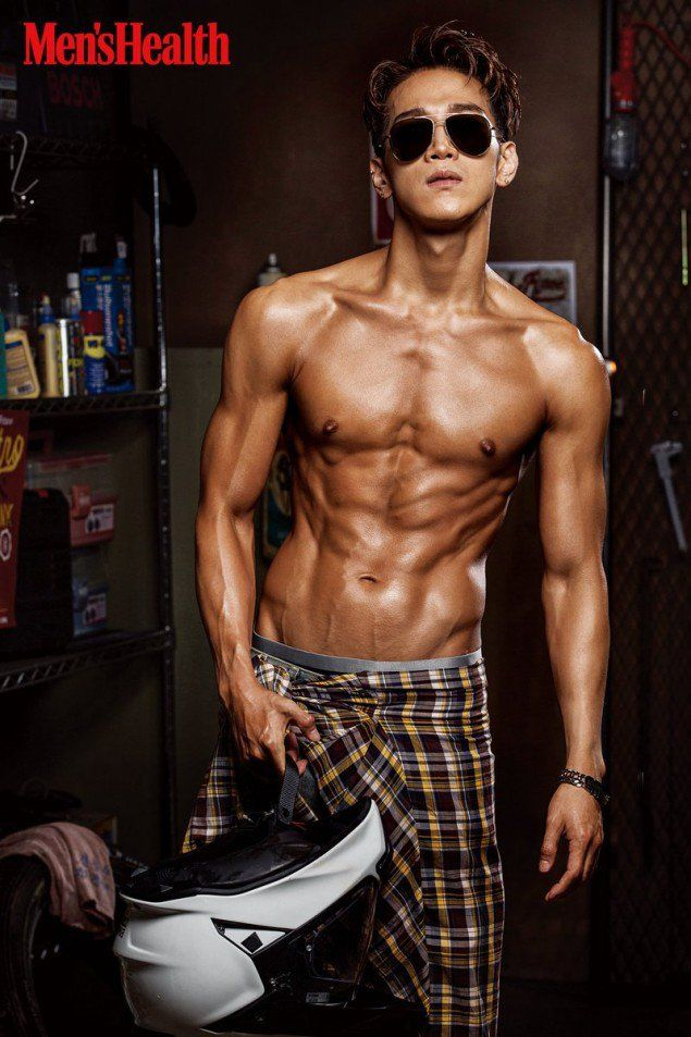 2PM's Jun.K boasts his hot bod as the cover model for 'Men's Health' | allkpop.com