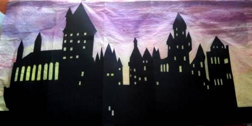 hogwarts silhouette for future project